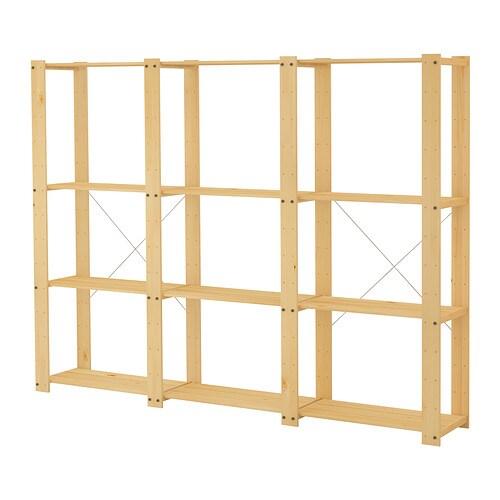 Decorar cuartos con manualidades estanterias de madera for Casita de madera ikea
