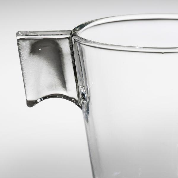 GOTTFINNANDE Taza espresso, vidrio incoloro, 8 cl