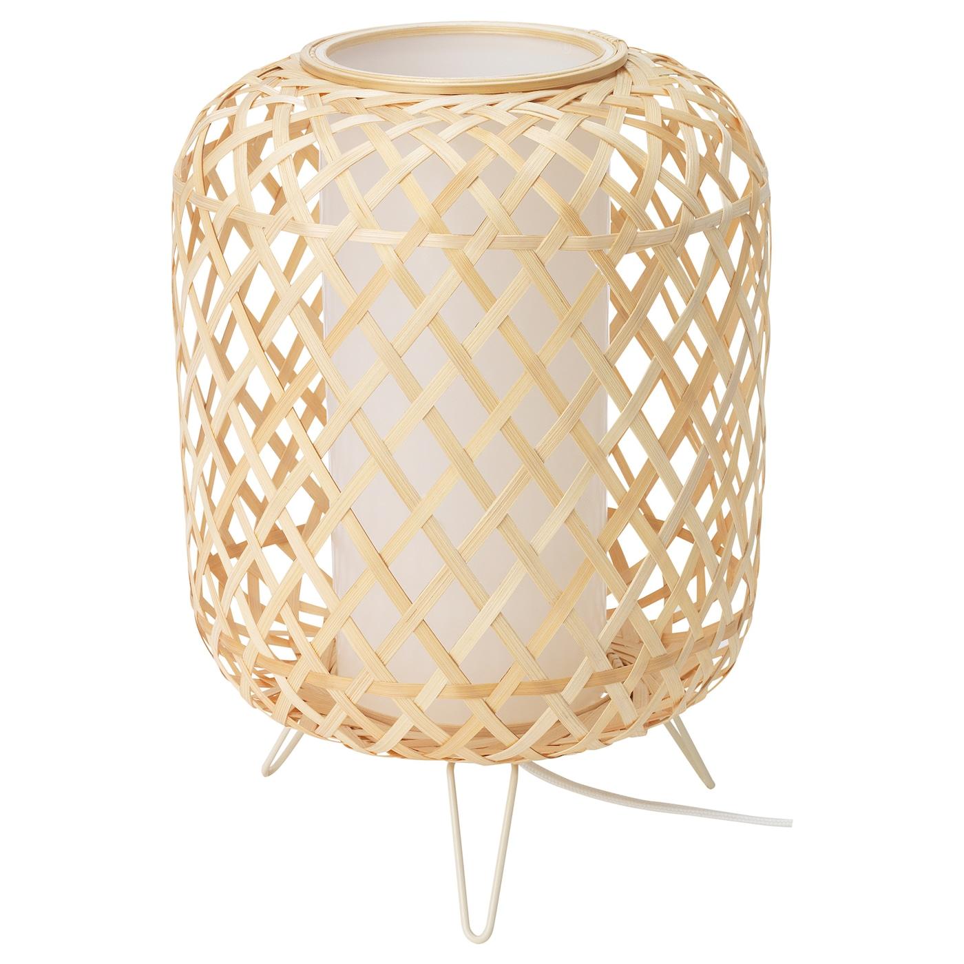 GOTTORP Lámpara de mesa bambú 24x34 cm