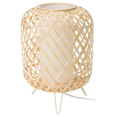 GOTTORP Lámpara de mesa, bambú, 24x34 cm
