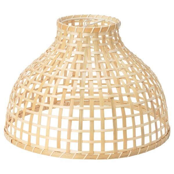 GOTTORP Pantalla para lámpara de techo bambú 36x25 cm