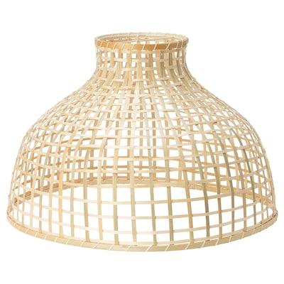 GOTTORP Pantalla para lámpara de techo, bambú, 55x37 cm