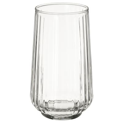 GRADVIS Florero / jarrón, vidrio incoloro, 15 cm