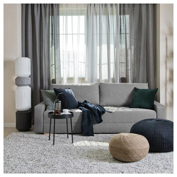 GRÄLVIKEN sofá cama 3 plazas gris 225 cm 86 cm 74 cm 48 cm 43 cm 140 cm 195 cm