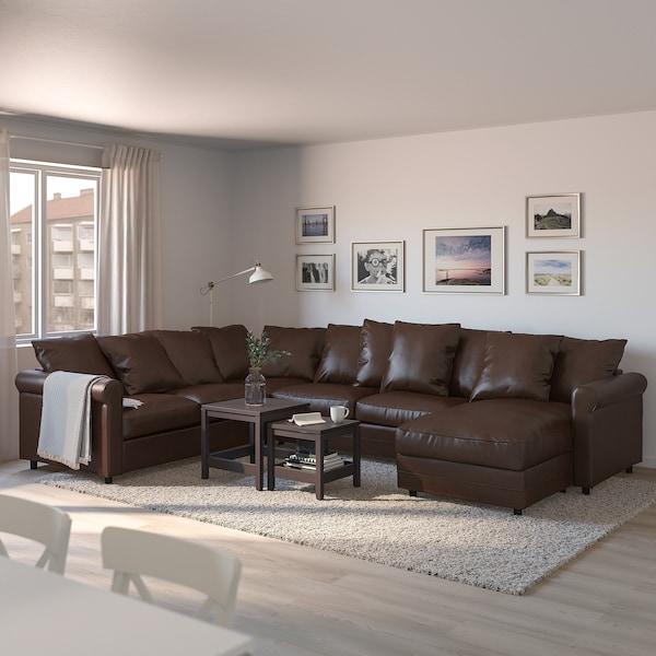 GRÖNLID Sofá cama esquina 5 - +chaiselongue, Kimstad ...