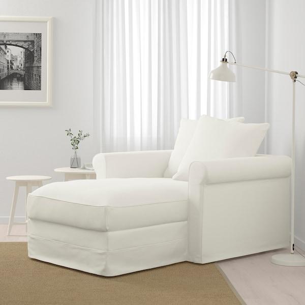 GRÖNLID Chaiselongue, Inseros blanco