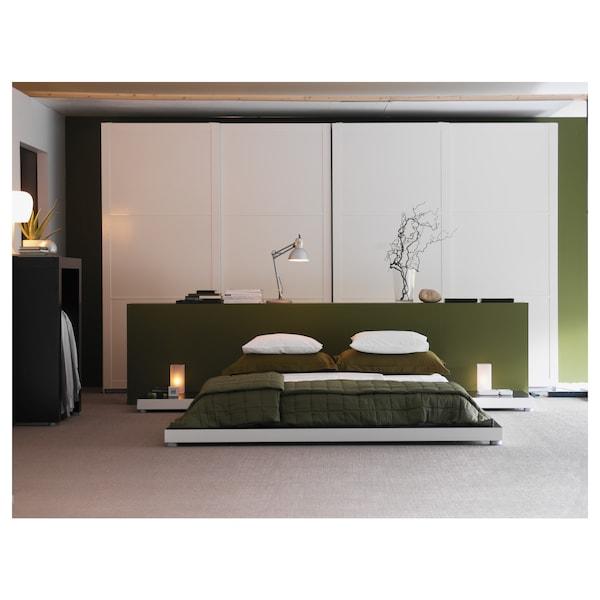 GRÖNÖ Lámpara de mesa, vidrio esmerilado blanco
