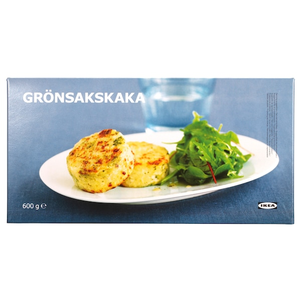 GRÖNSAKSKAKA Medallón verduras, congelado