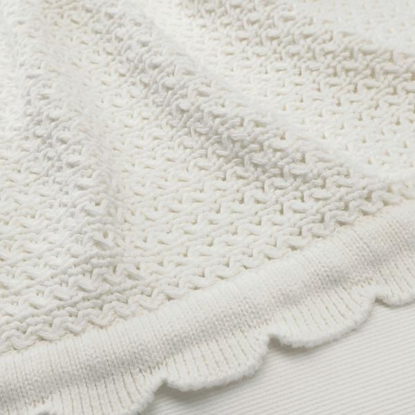 GULSPARV Manta, blanco, 70x90 cm