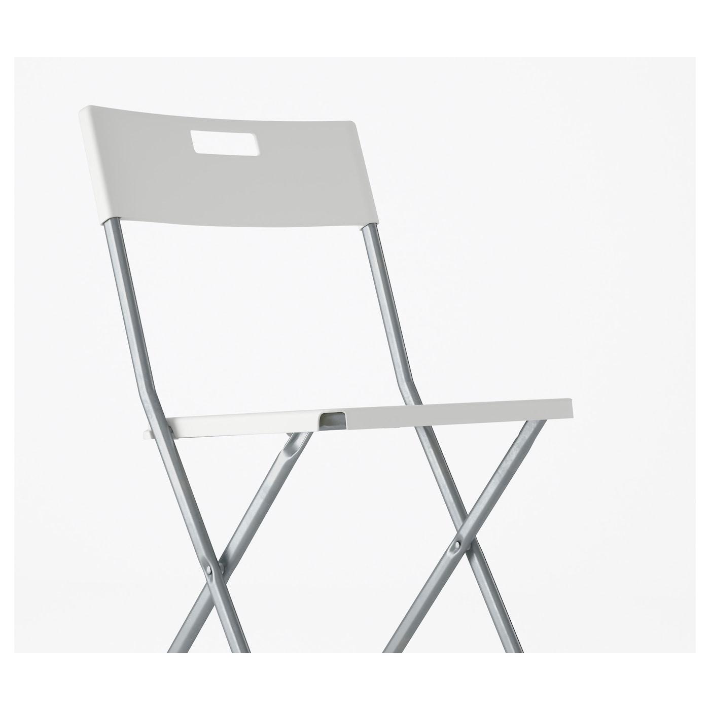 Gunde Silla Plegable Blanco Ikea