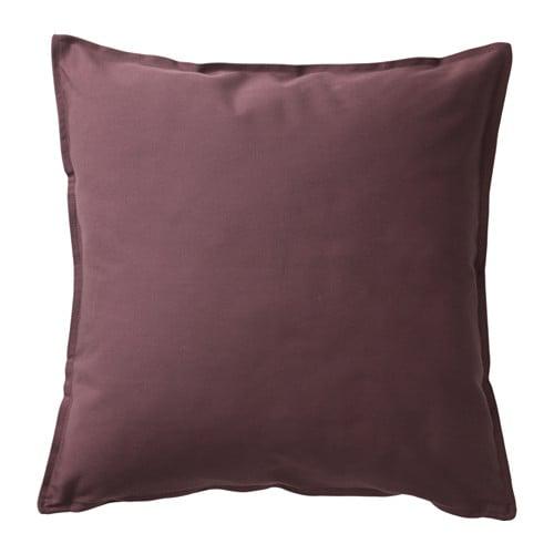 GURLI  - funda de coixí, 50x50, marró vermellós