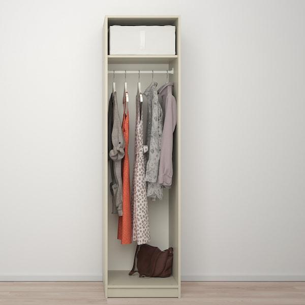 GURSKEN Armario, beige claro, 49x55x186 cm