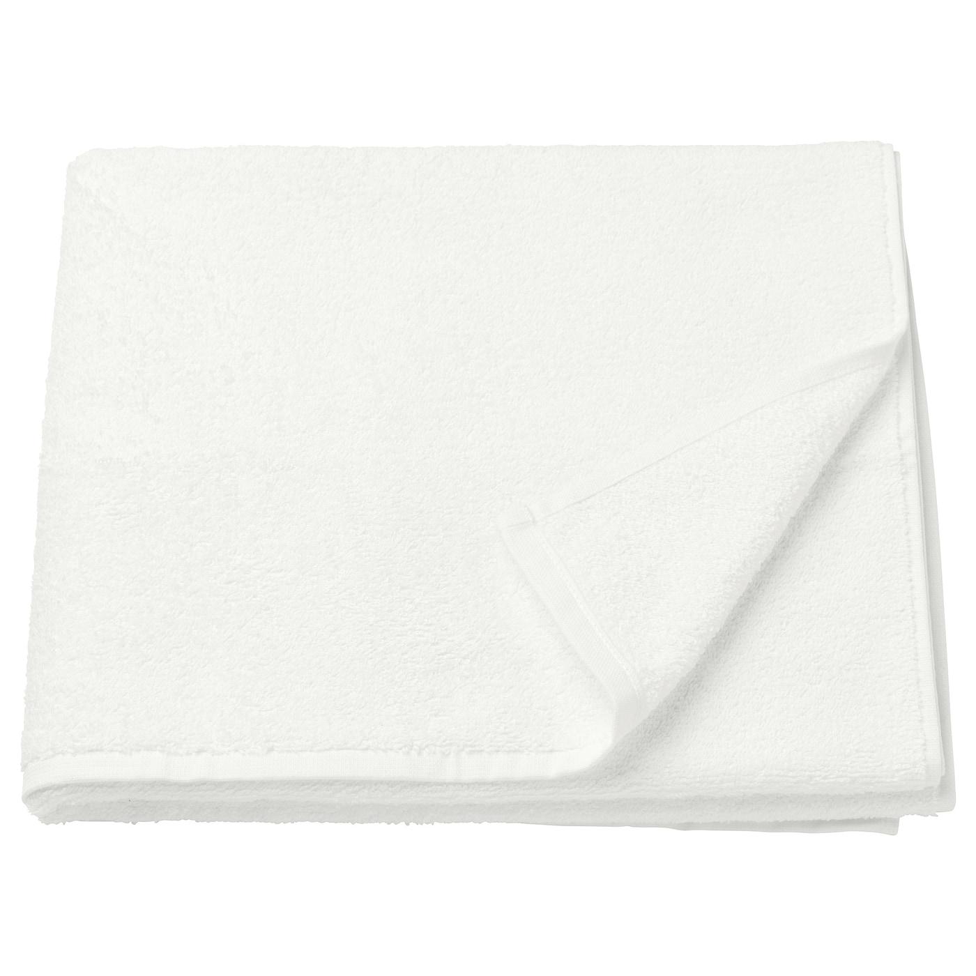 H ren toalla de ba o blanco 70 x 140 cm ikea for Toallas bano ikea