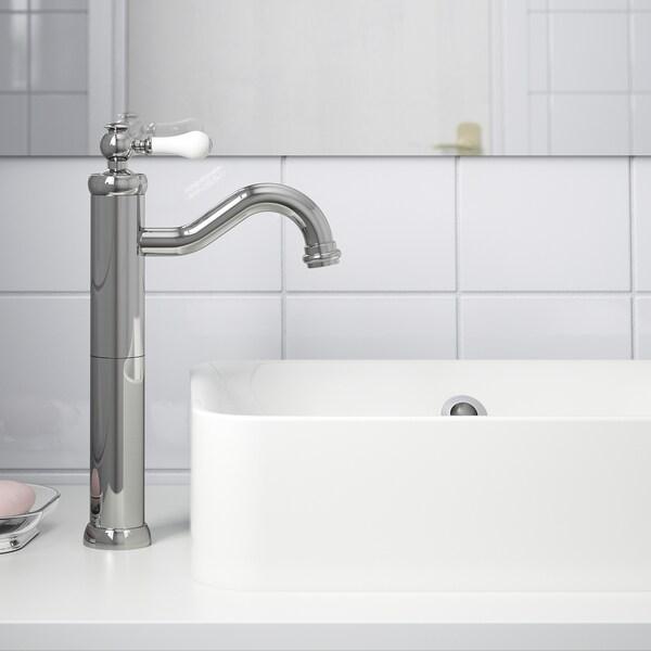 HAMNSKÄR Grifo lavabo alto, cromado