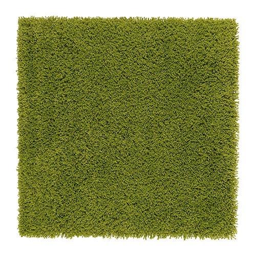 Hampen alfombra pelo largo 80x80 cm ikea - Alfombra de coco ikea ...