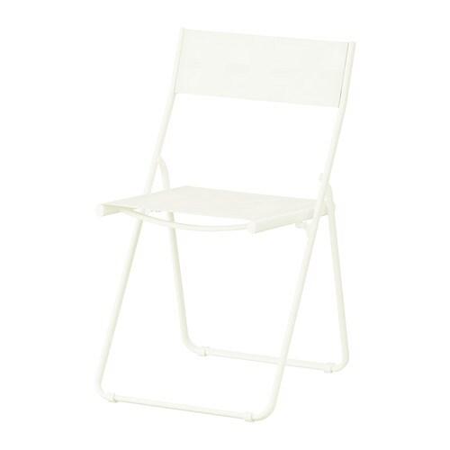 H r silla ext blanco ikea for Sillas de exterior ikea