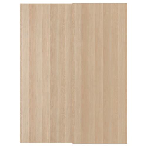 AULI Puertas correderas, 2 uds, espejo, 150x236 cm IKEA