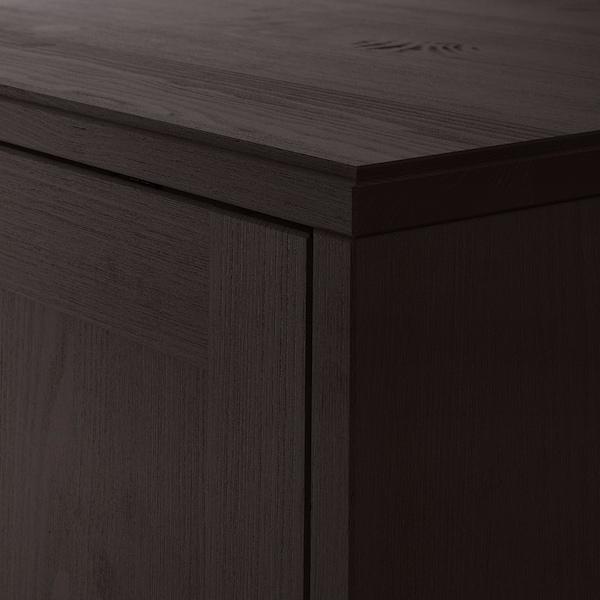 HAVSTA Armario, marrón oscuro, 81x35x123 cm IKEA