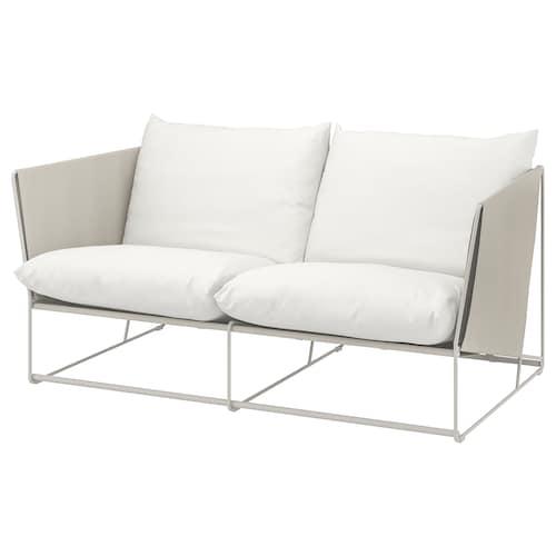 HAVSTEN sofá 2 int/ext beige 179 cm 94 cm 90 cm 62 cm 42 cm