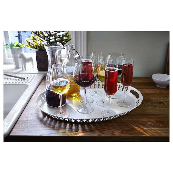 HEDERLIG Copa de vino tinto, vidrio incoloro, 59 cl