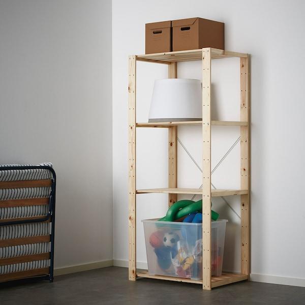 HEJNE 1 sección, madera conífera, 78x50x171 cm