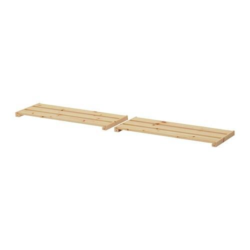 Hejne balda 77x28 cm 2 unidades ikea - Balda de madera ...