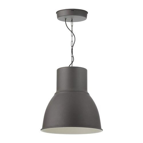 hektar l mpara de techo gris oscuro 47 cm ikea. Black Bedroom Furniture Sets. Home Design Ideas