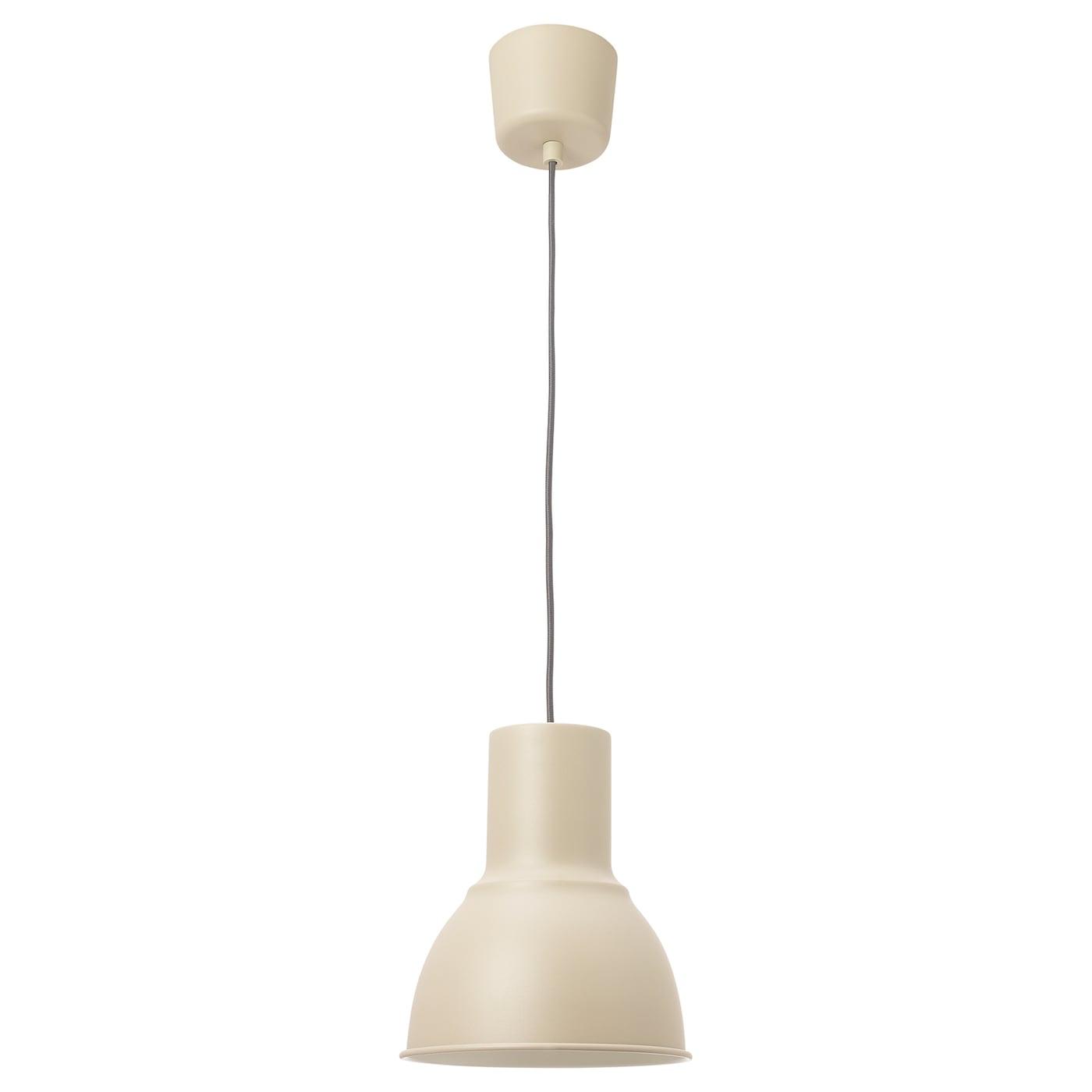 HEKTAR Lámpara de pie, beige IKEA