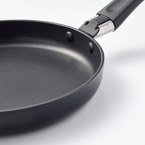 HEMLAGAD Sartén, negro, 17 cm