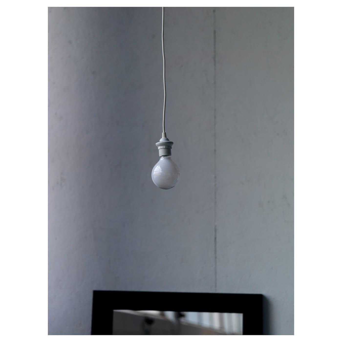 HEMMA Montura para lámpara de techo blanco 1.8 m