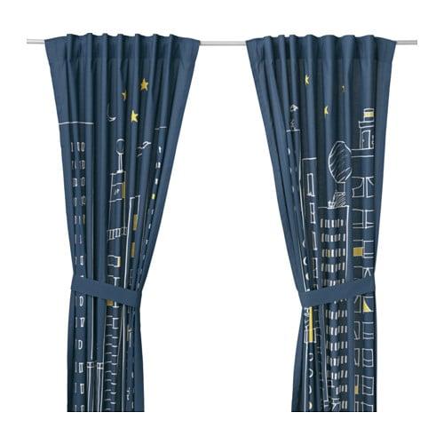 Hemmahos cortinas alzapa os 1par ikea - Alzapanos para cortinas ...