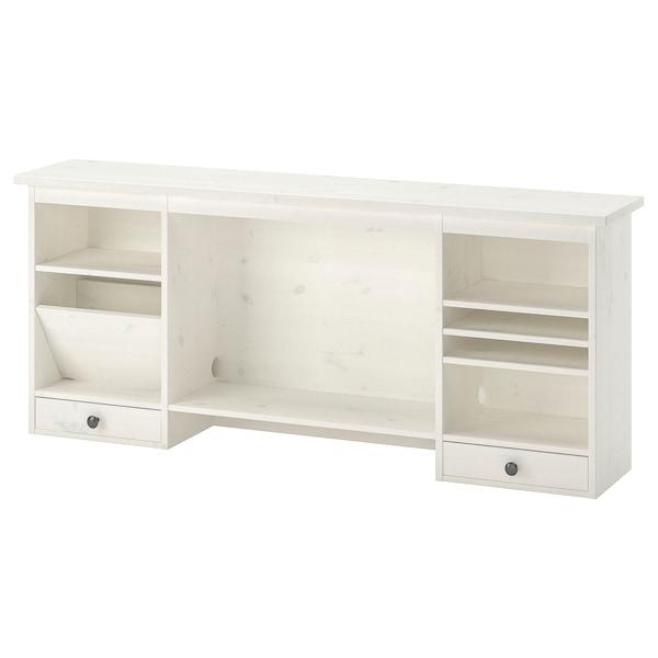 HEMNES módulo adicional escritorio tinte blanco 152 cm 25 cm 63 cm