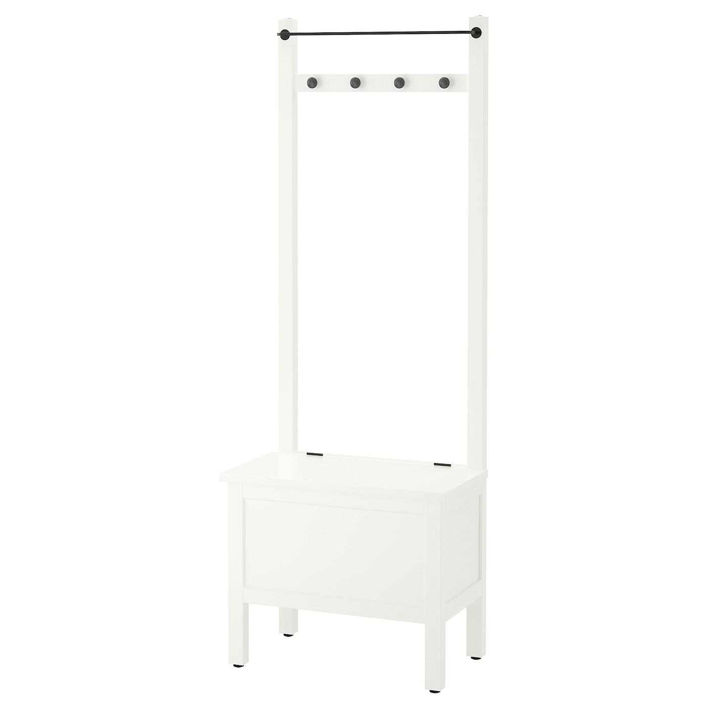 IKEA HEMNES banco toallero 4 ganchos 636fe47c0b1f