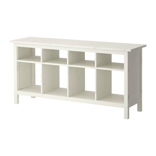 Hemnes Consola Tinte Blanco Ikea