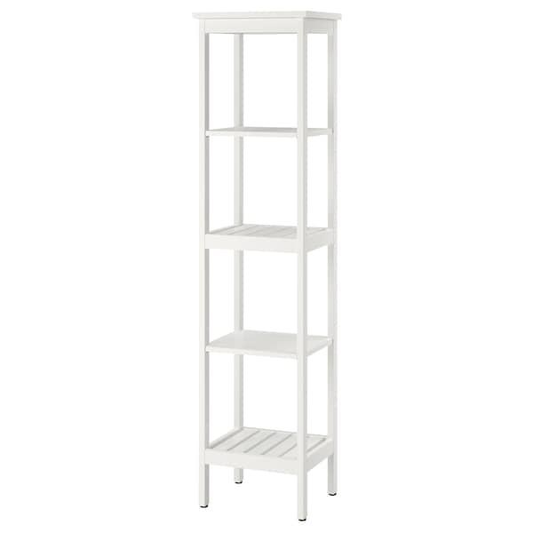 HEMNES Estantería, blanco, 42x172 cm