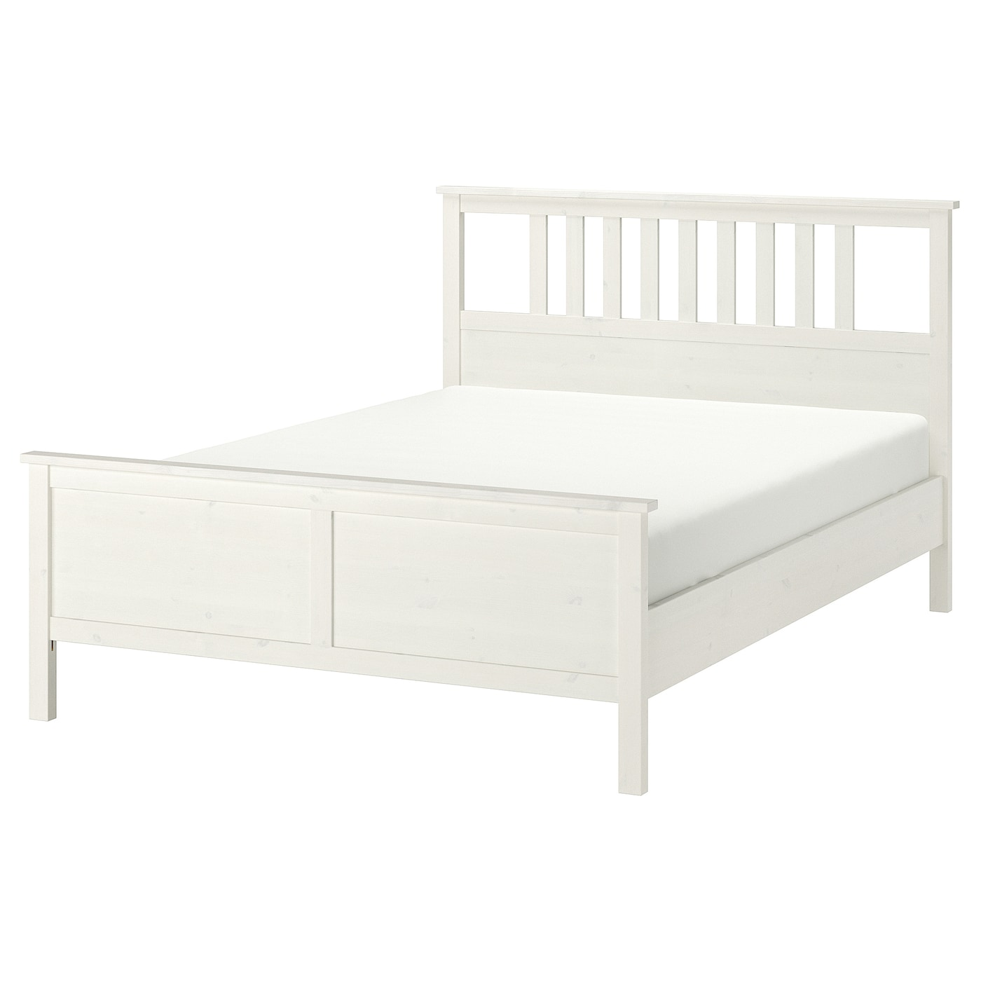 Hemnes estructura cama tinte blanco 140 x 200 cm ikea - Estructura cama ...