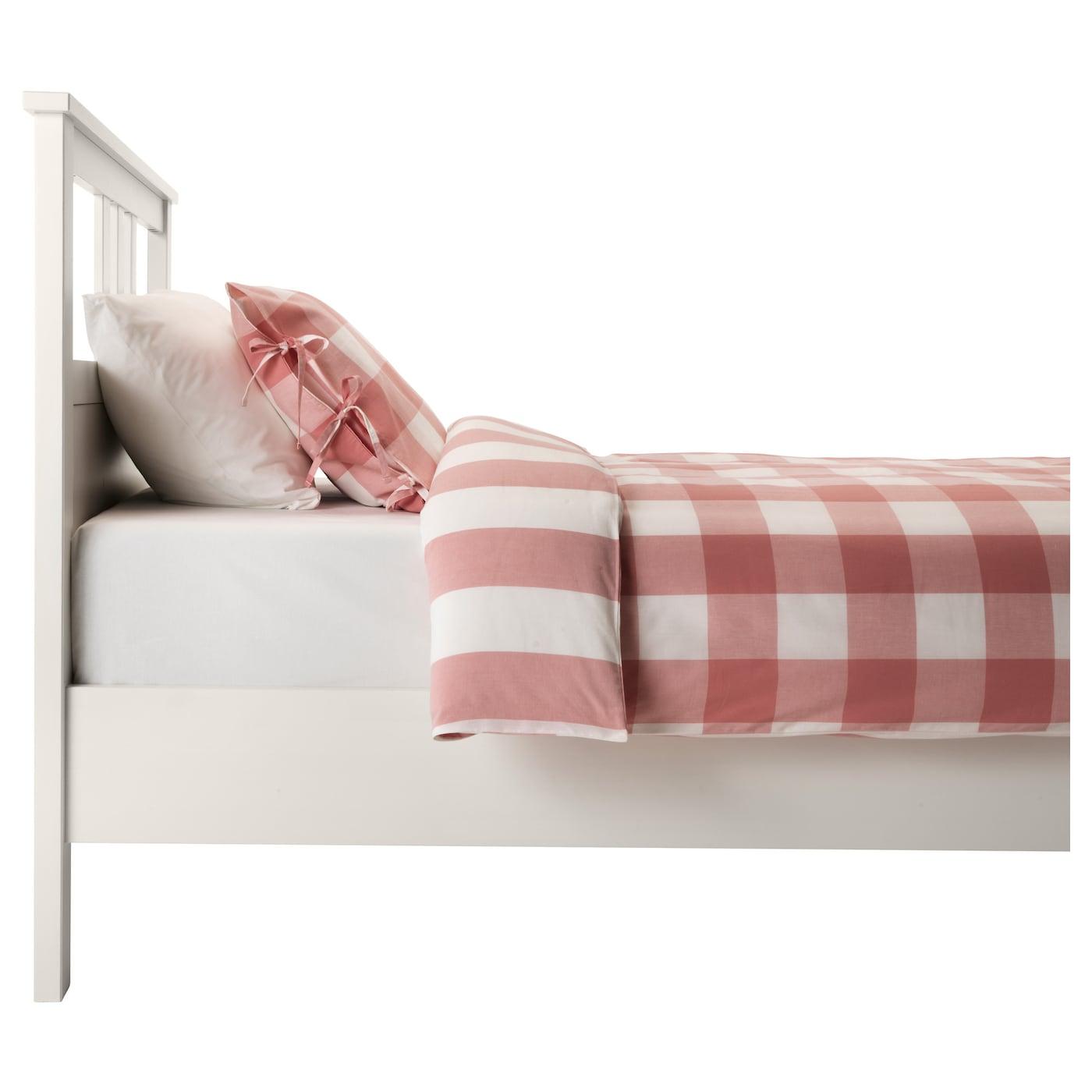 Hemnes estructura de cama tinte blanco lur y 90 x 200 cm - Estructuras de camas ...