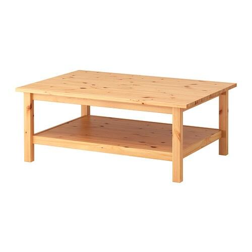 HEMNES Mesa de centro Más ofertas en IKEA La madera maciza tiene un