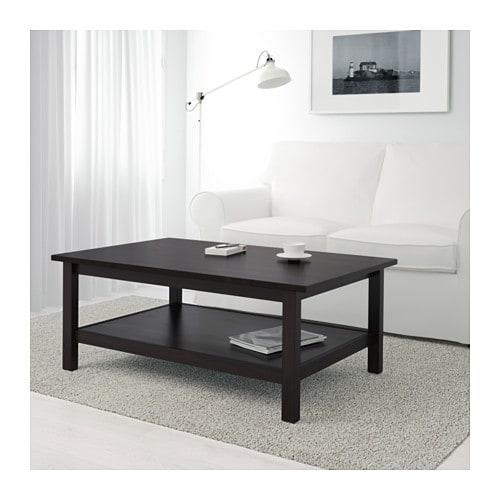 Armario Ingles Britanico ~ HEMNES Mesa de centro negro marrón IKEA