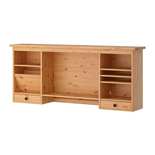 Armario Ingles Britanico ~ HEMNES Módulo adicional escritorio marrón claro IKEA