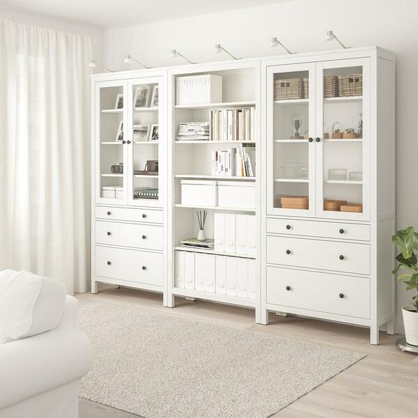 HEMNES Mueble salón, tinte blanco, 270x197 cm IKEA
