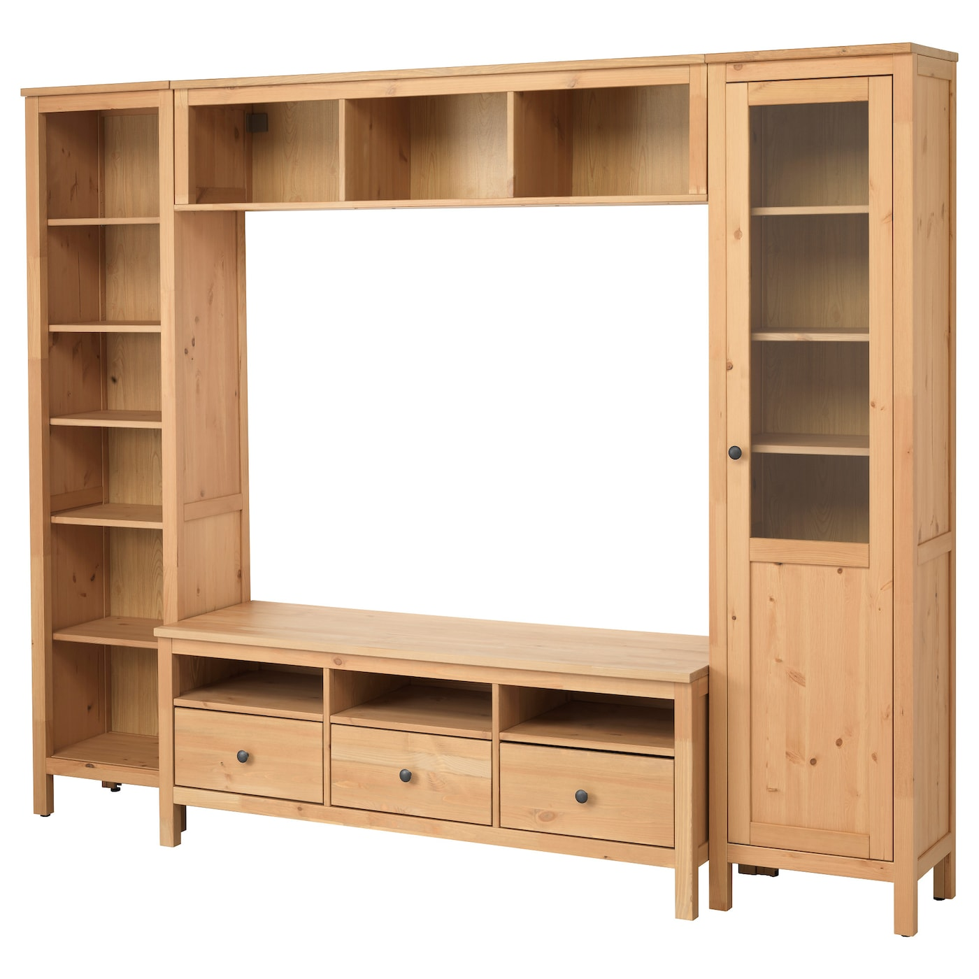 Muebles de tv y muebles para el sal n compra online ikea for Mueble hemnes ikea