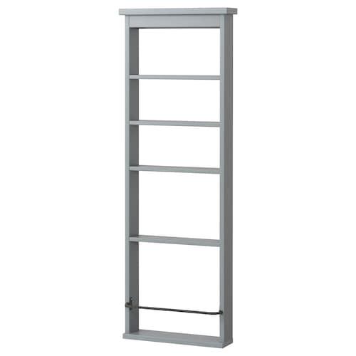 HEMNES estante gris 42 cm 10 cm 118 cm