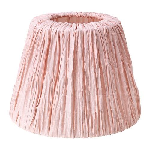 HEMSTA Pantalla lámpara rosa