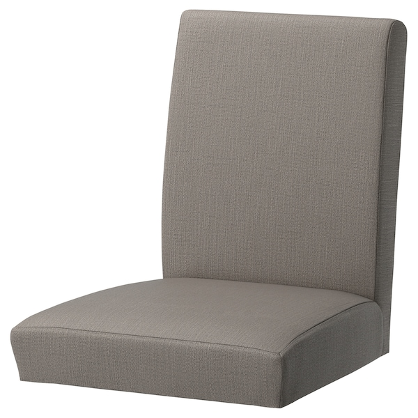 HENRIKSDAL Funda silla, Nolhaga beige grisáceo IKEA