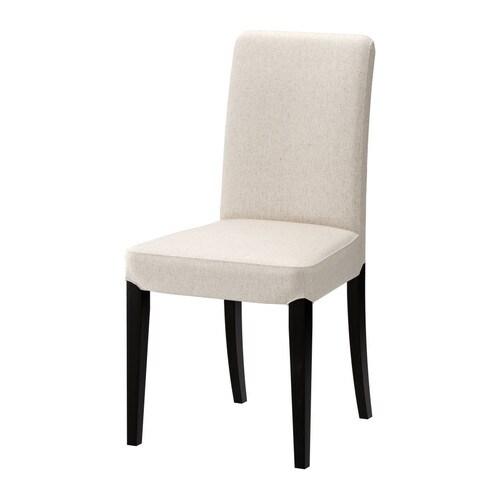 HENRIKSDAL Cadira IKEA. Gràcies al respatller alt i al seient amb buata de polièster, resulta molt còmode.