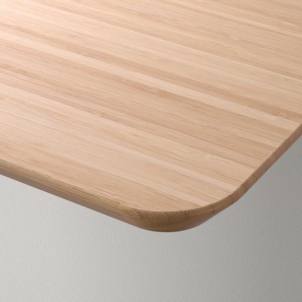 HILVER Tablero, bambú, 140x65 cm IKEA