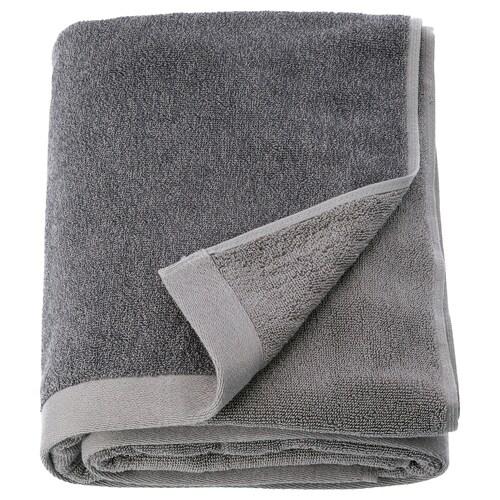 HIMLEÅN toalla de baño gris oscuro/mezcla 500 g/m² 150 cm 100 cm 1.50 m²