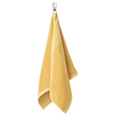 HIMLEÅN Toalla de mano, amarillo/mezcla, 50x100 cm