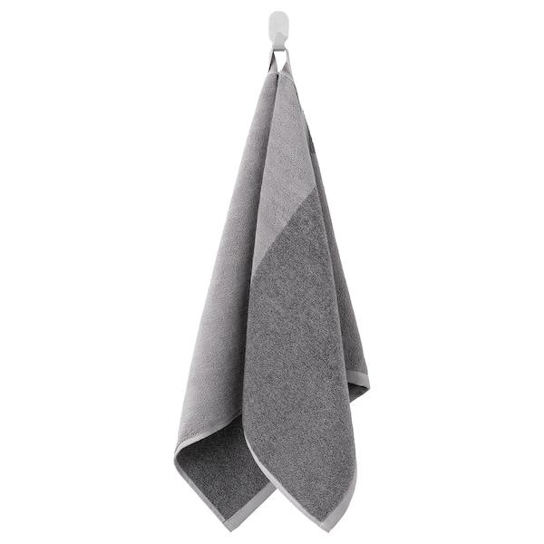 HIMLEÅN Toalla de mano, gris oscuro/mezcla, 50x100 cm